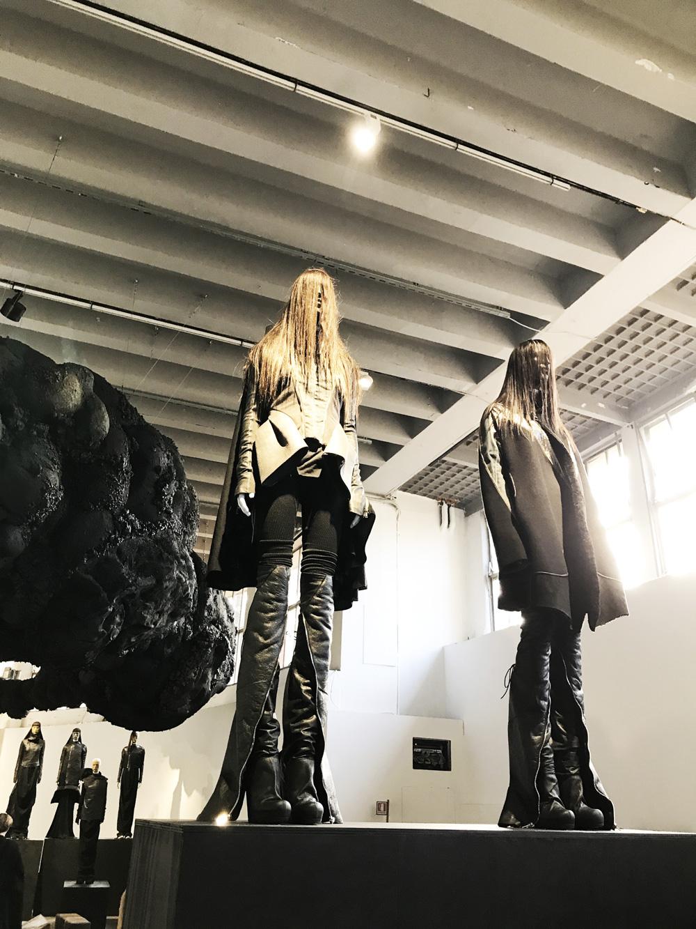 abbastanza La mostra di Rick Owens alla Triennale di Milano CJ16